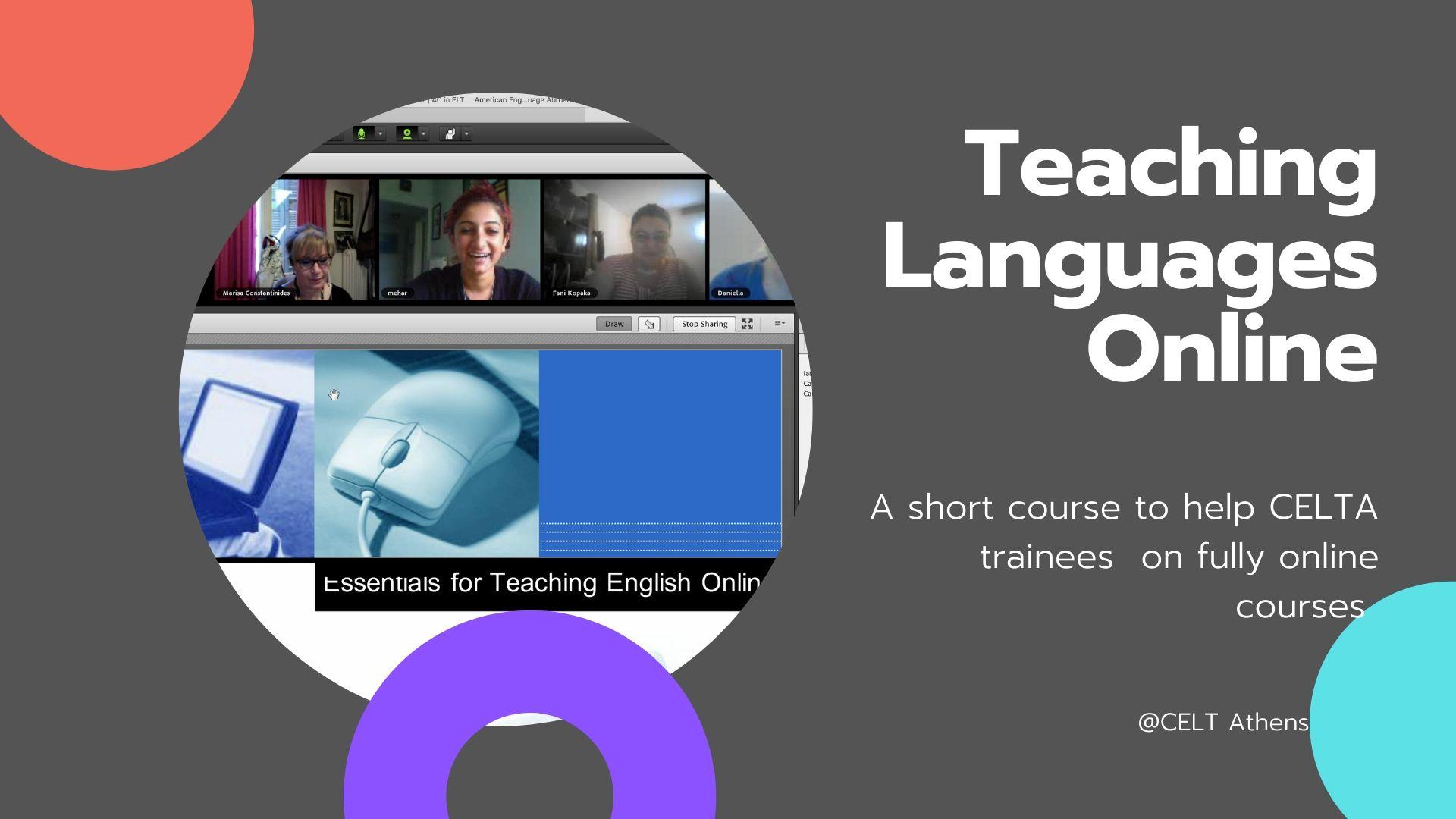 Online Teaching for the CELTA